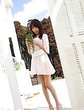 Kanako Tsuchiya Asian teen model is lovely when posing in the nude